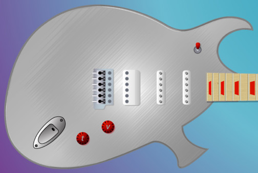 The Duality Guitar, by Guitar Design Reviews