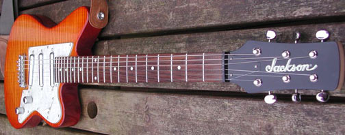 Jackson Surfcaster SC4 Guitar, full view