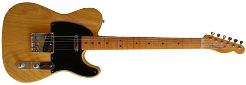 1952 Telecaster, butterscotch blonde
