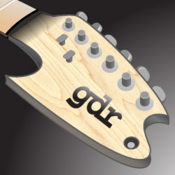 Headstock GDR12 coming at ya!