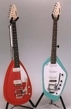 Vox TearDrop and Phantom originals