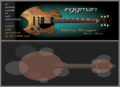 The Eggman Guitar by Kerry Kruger