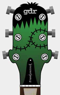 The Frankenstein Headstock