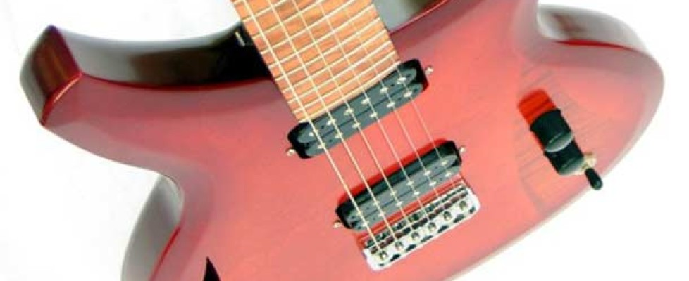 Introducing Murray Kuun, an innovative guitar designer and luthier