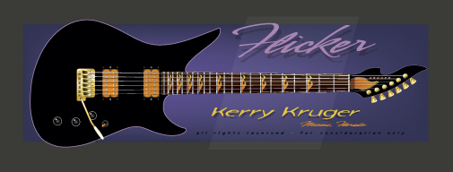 The Flicker Guitar
