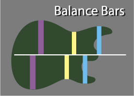 Guitar Design Fundamentals 3 balance bars
