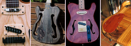 more pictures of Eric's guitars