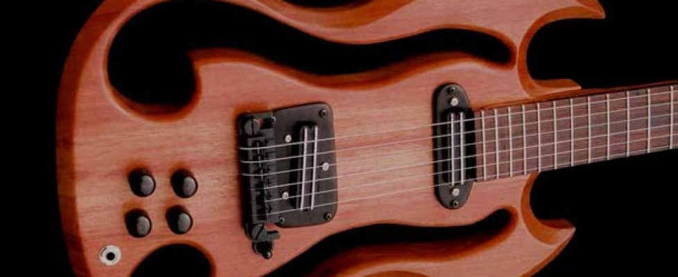 An interview with guitar designer and luthier Dr Eric Joseph
