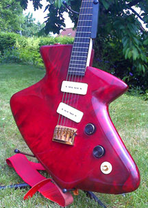 The Thelema Sealife guitar