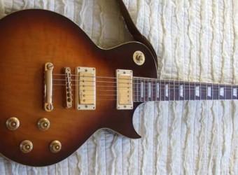 Vintage V100 Les Paul 'tribute' electric guitar review