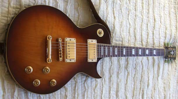 Vintage V100 Les Paul 'tribute' electric guitar review