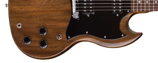 SG Special Humbucker, Dark Walnut version