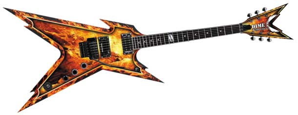 Ouch, this is a sharp guitar!