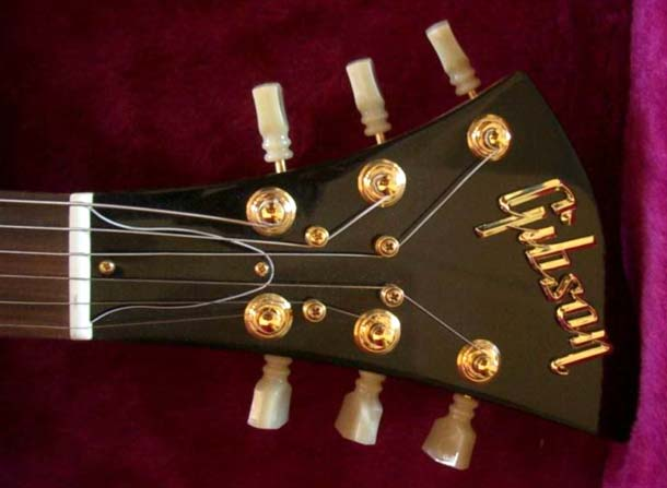 Nice headstock Mr Gibson