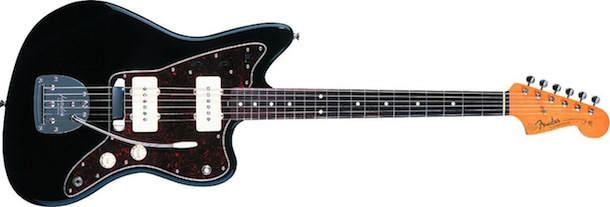Offset waists imply movement in the Jazzmaster design
