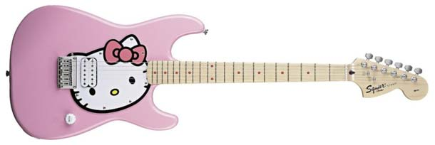 Hello Kitty guitar, does the job for some people