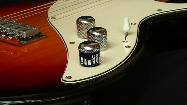 A simple Modeling selector knob