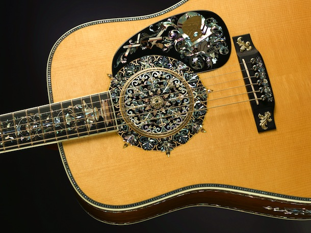 Martin's Millionth Guitar, a commemorative piece