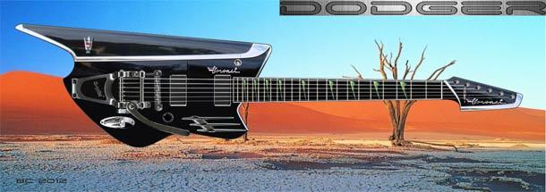 Dodger guitar