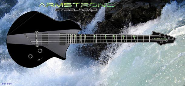 Waterfall guitar