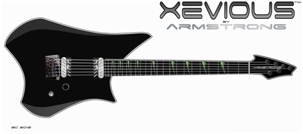 Xevious guitar