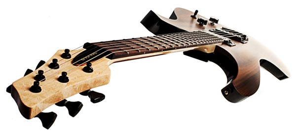 Sinuous Guitars Scroll body design