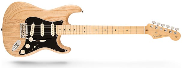 American Standard Stratocaster in oiled ash finish - main
